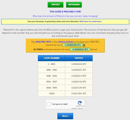 come guadagnare velocemente bitcoin gratis opzioni binarie come puntare bitcoin italia normativa